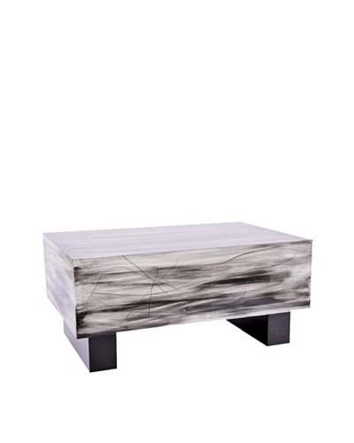 Phillips Collection Mist Rectangular Table, Gray