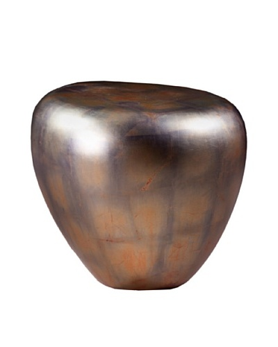 Phillips Collection Pebble Side Table, Copper