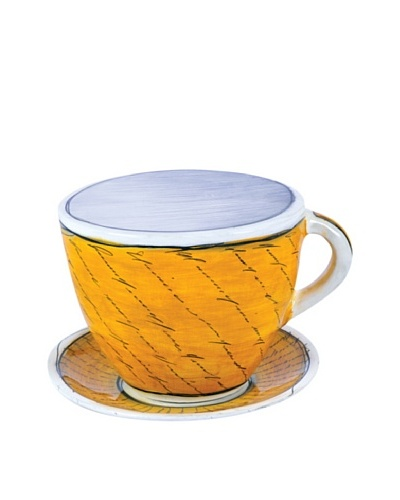 Phillips Collection Delights Coffee Cup, Yellow