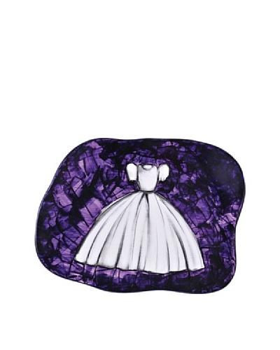 Phillips Collection Desires Little Dress Mosaic Sculpture, Purple