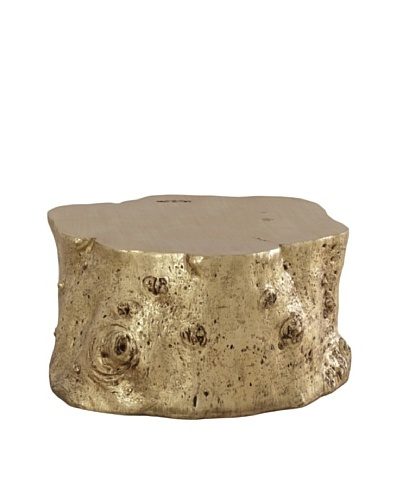 Phillips Collection Log Cocktail Table [Gold]