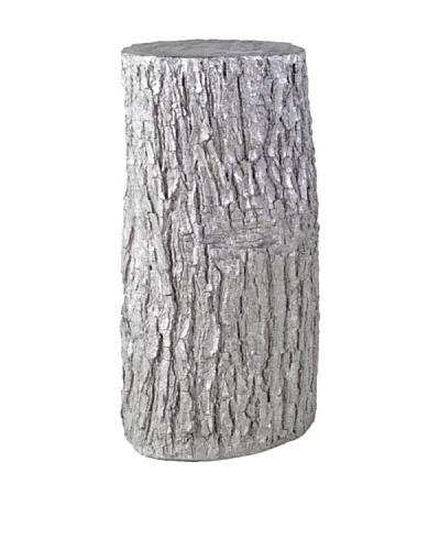 Phillips Collection Log Pedestal, Silver