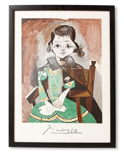 Picasso Estate Collection The Girl With The Green Dress