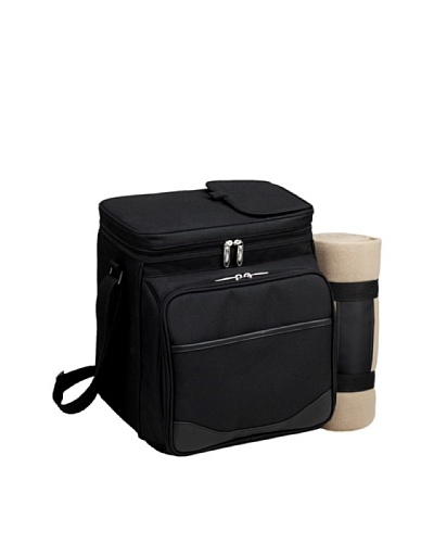 Picnic at Ascot London Collection Picnic Cooler for 2 with Blanket