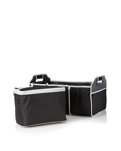 Picnic at Ascot Trunk Organizer & Cooler set [Black]