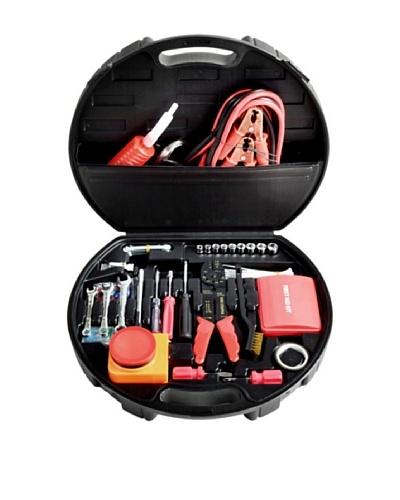 Picnic at Ascot Deluxe Roadside Emergency Kit, Black