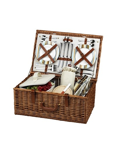 Picnic at Ascot Dorset Basket for 4 [Santa Cruz]