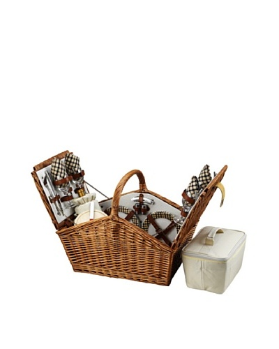 Picnic at Ascot Huntsman Basket for 4