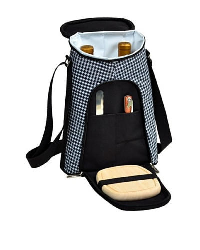 Picnic at Ascot 2-Bottle Wine Carrier with Cheese Set