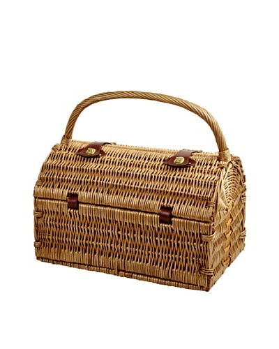 Picnic at Ascot Sussex Picnic Basket for 2 [Wicker/Gazebo]