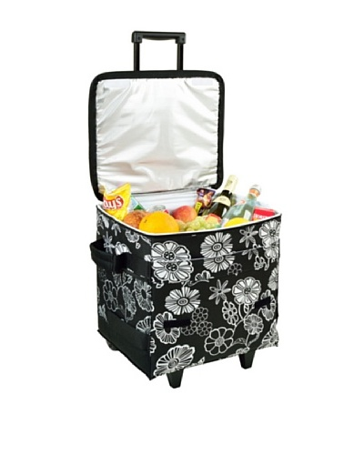 Picnic at Ascot Wheeled Cooler, Night Bloom