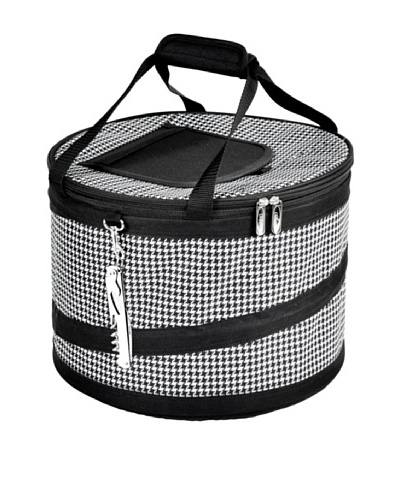 Picnic at Ascot Compact Pop-Up Cooler [Houndstooth]