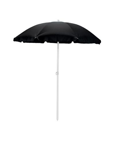 Picnic Time Portable Canopy Outdoor Umbrella [Black]