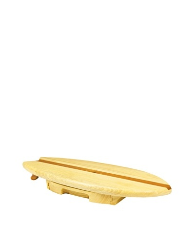 Picnic Time Surfboard Cheese Board and Tool Set