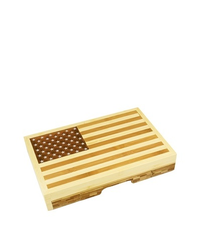 Picnic Time Old Glory Cheese Set, 12.5