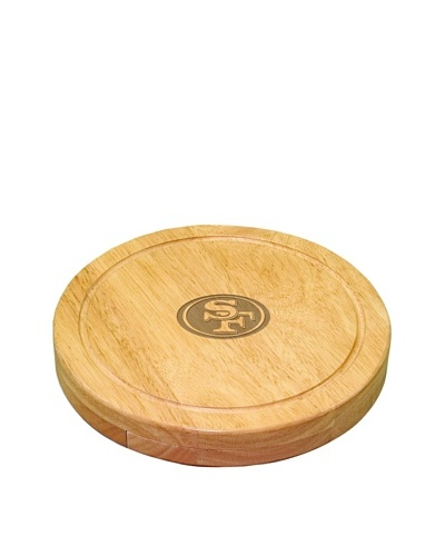 Picnic Time NFL San Francisco 49ers Circo Cheese SetAs You See
