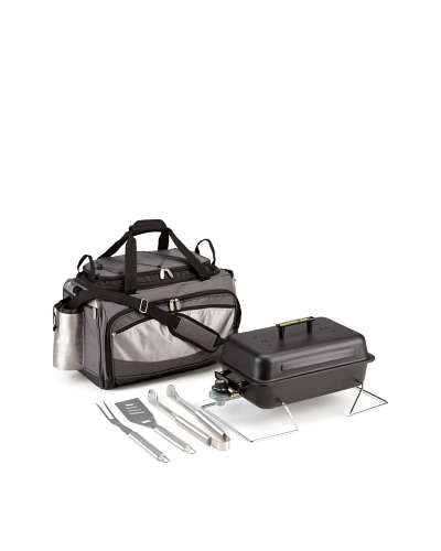 Picnic Time Vulcan All-In-One Tailgating Cooler/BBQ Set