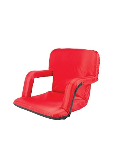 Picnic Time Portable Ventura Reclining Seat [Red]