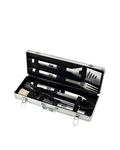 Picnic Time Fiero 5-Piece Deluxe BBQ Tool Set in Carry Case