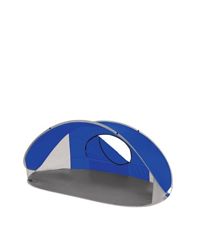 Picnic Time Manta Portable Pop-Up Sun/Wind Shelter [Blue]