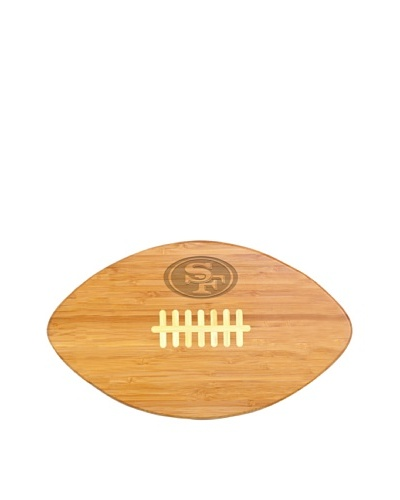 NFL San Francisco 49ers Touchdown Pro! Bamboo Cutting BoardAs You See