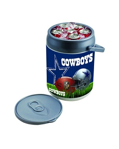 Picnic Time NFL Dallas Cowboys Insulated Can CoolerAs You See