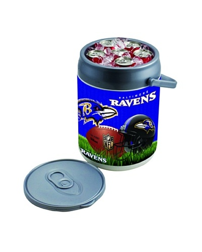 Picnic Time NFL Baltimore Ravens Insulated Can CoolerAs You See