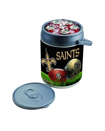 Picnic Time NFL New Orleans Saints Insulated Can CoolerAs You See