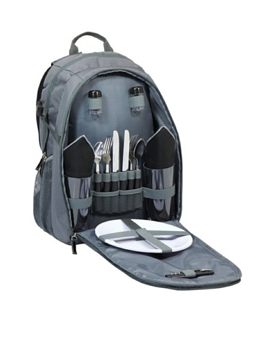 Picnic Time Escape Insulated Picnic Pack with Service for 2