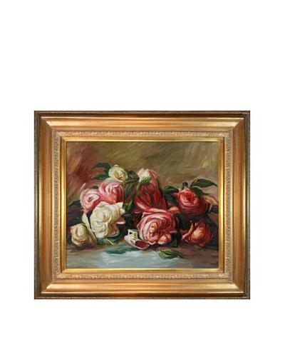 Pierre Auguste Renoir Discarded Roses