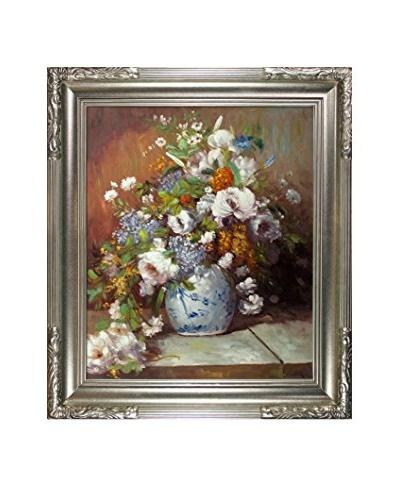 Pierre-Auguste Renoir Grande Vase Di Fiori Oil Painting