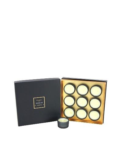 Plain & Simple Set of 9 Perfumed Votives, Vermillion, .8-Oz.