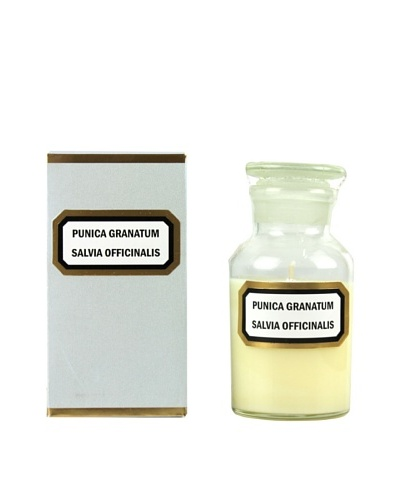 Plain & Simple Perfumed Apothecary Candle in Vintage Glass Vessel