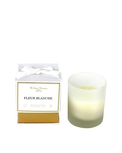 Plain & Simple Single-Wick Glass Candle, Fleur Blanche, 6-Oz.