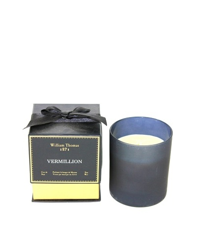 Plain & Simple Single-Wick Glass Candle, Vermillion, 6-Oz.
