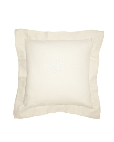 Pom Pom at Home Classica Decorative Pillow Sham [Beige/White]