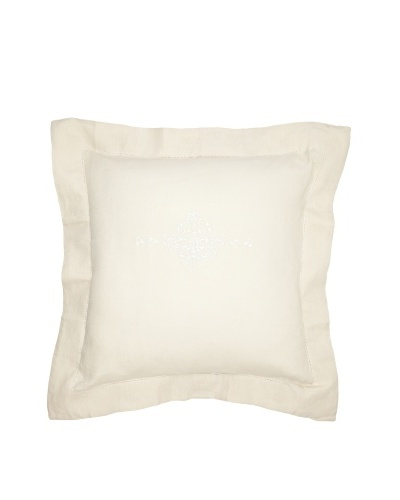Pom Pom at Home Classica Euro Pillow Sham [Beige/White]