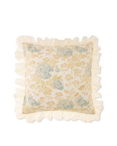 Pom Pom at Home Sofia Euro Sham, Blue, Euro