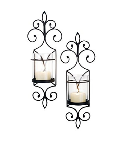 Pomeroy Set of 2 Pentaro Candle Holder Sconces