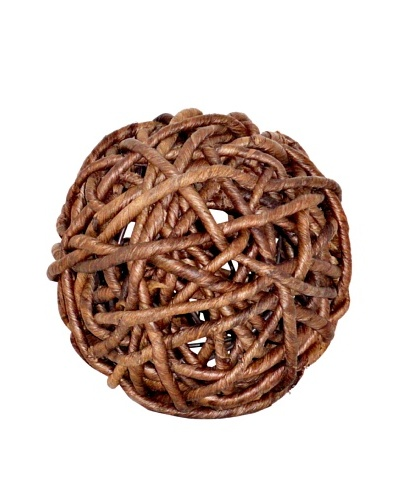 Pomeroy Woven Decorative Sphere, Small