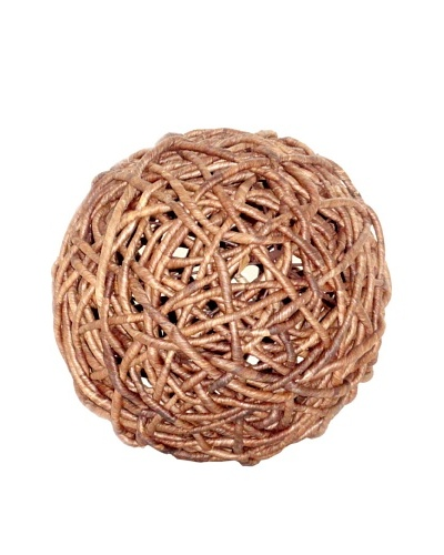 Pomeroy Woven Decorative Sphere, Medium
