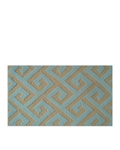 Pop Accents Greek Rug [Yellow/Seafoam]