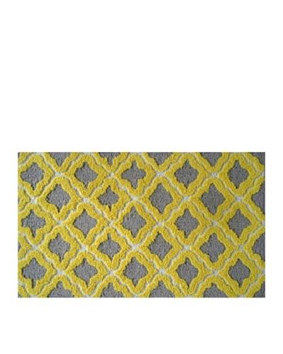 Pop Accents Marrakesh Rug [Grey/Yellow]