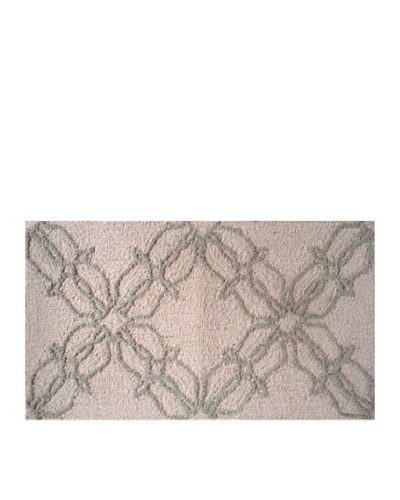 Pop Accents Chrome Rug [Taupe/Brown]