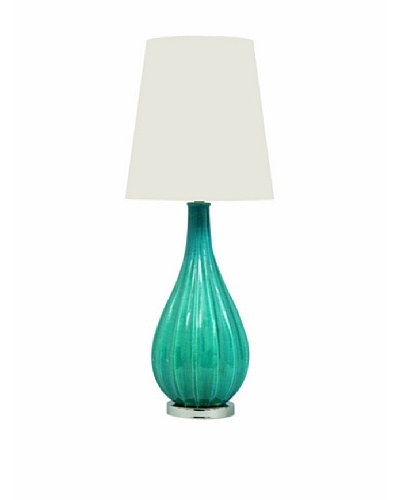 Port 68 Collins Lamp, Turquoise