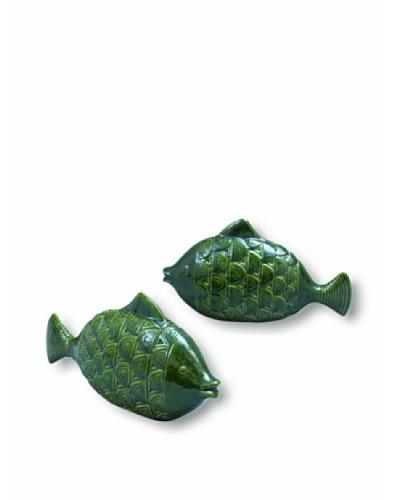 Port 68 Set of 2 Malibu Fish Objects