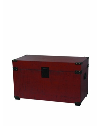 Port 68 Campaign Trunk, Red