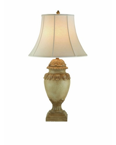 Port 68 Acanthus Lamp, Beige