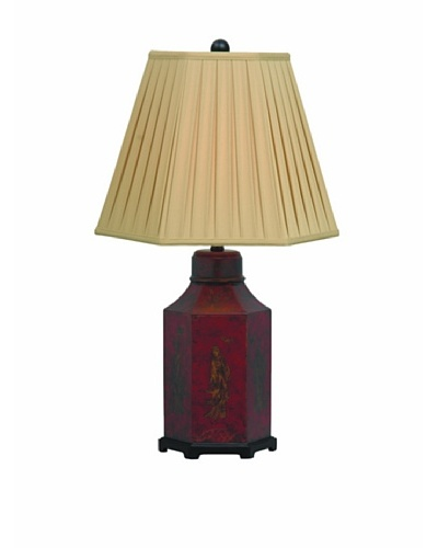 Port 68 Chinoiserie Lamp [Red]