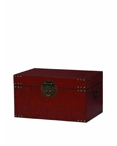 Port 68 Traveler Trunk, Red